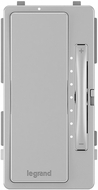 Legrand Radiant HMKITGRY Contemporary Gray Multi-Location Interchangeable Dimmer Face Cover