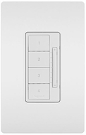Legrand Radiant LC2303WH Modern White Wi-Fi Ready RF Scene Controller