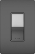 Legrand Radiant NTL873BKCC6 Contemporary Black LED Night Light w/ Single-Pole 3-Way Switch