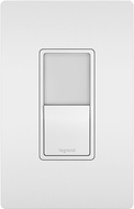 Legrand Radiant NTL873WCC6 Contemporary White LED Night Light w/ Single-Pole 3-Way Switch