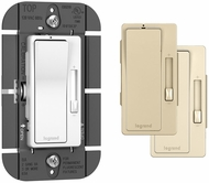 Legrand Radiant RHFB83PTC Modern Tri-Color Fluorescent 1P & 3-Way Paddle 8A Dimmer