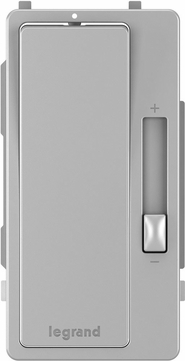 Legrand Radiant RHKITGRY Contemporary Gray Interchangeable Dimmer Face Cover