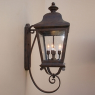 Lighting Innovations 1203 Traditional Exterior 10.3 Wide x 28.5 Tall Wall Sconce Lighting