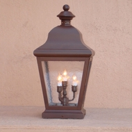 Lighting Innovations 1224 Traditional Outdoor 12  Wide x 24.8  Tall Pier Mount