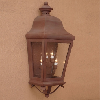 Lighting Innovations 1236 Traditional Outdoor 8.5 Wide x 22.5 Tall Sconce Lighting