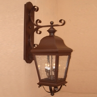 Lighting Innovations 1253 Traditional Exterior 18 Wide x 56 Tall Wall Sconce Light
