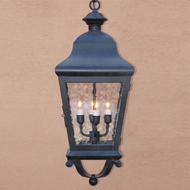Lighting Innovations 1264 Traditional Outdoor 12 Wide x 28.5 Tall Pendant Hanging Light