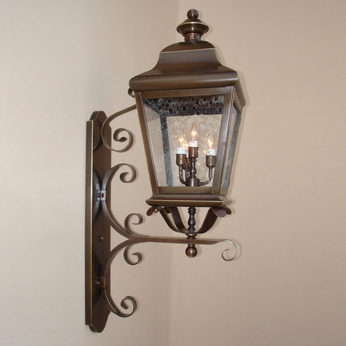 Lighting Innovations 1275 Traditional Exterior 10.3 Wide x 34.5 Tall Wall Lamp