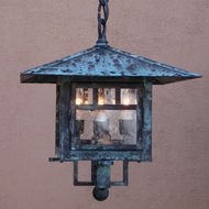 Lighting Innovations 3502 Outdoor 10.5 Wide x 12.3 Tall Hanging Lamp