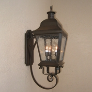 Lighting Innovations BB5942 Exterior 8.5  Wide x 24.8  Tall Lamp Sconce
