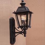Lighting Innovations BB9312 Outdoor 10 Wide x 27.3 Tall Wall Sconce Lighting