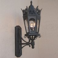 Lighting Innovations BC7042 Traditional Outdoor 11.5 Wide x 33.9 Tall Wall Light Sconce