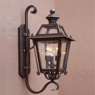 Lighting Innovations BH9207 Outdoor 10 Wide x 24.3 Tall Wall Mounted Lamp
