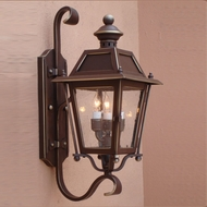 Lighting Innovations BH9307 Outdoor 10 Wide x 24.3 Tall Sconce Lighting