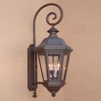 Lighting Innovations BP1405 Traditional Outdoor 18 Wide x 48 Tall Lamp Sconce