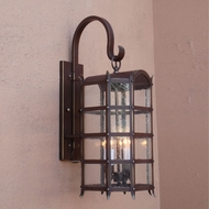 Lighting Innovations BP1592 Exterior 8.6 Wide x 19.8 Tall Lamp Sconce