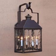 Lighting Innovations BP1801 Outdoor 8.3 Wide x 14.1 Tall Wall Sconce Light