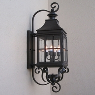 Lighting Innovations BP2002 Outdoor 7.9 Wide x 28.5 Tall Wall Sconce