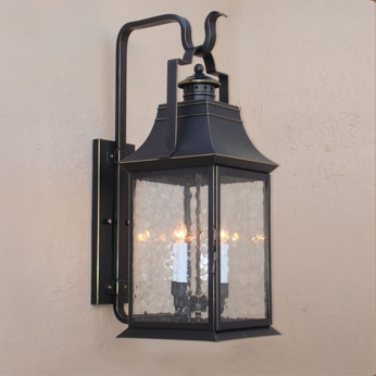 Lighting Innovations BP2442 Outdoor 7.5 Wide x 20 Tall Wall Lamp