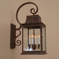Lighting Innovations BP9500 Exterior 6.1 Wide x 16.3 Tall Lamp Sconce