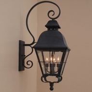 Lighting Innovations BP9801 Exterior 9.6  Wide x 24  Tall Wall Sconce Light