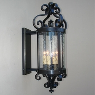Lighting Innovations BPS10016 Outdoor 25 Wide x 55.8 Tall Wall Sconce