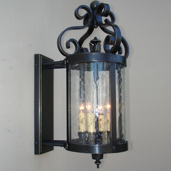 Lighting Innovations BPS10033 Exterior 15 Wide x 28.5 Tall Wall Sconce Lighting