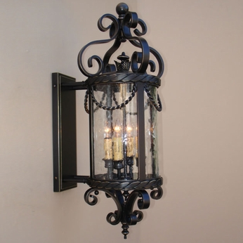 Lighting Innovations BPS11010 Exterior 8 Wide x 20.8 Tall Lamp Sconce