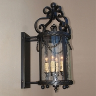 Lighting Innovations BPS11033 Outdoor 15 Wide x 28.5 Tall Lamp Sconce