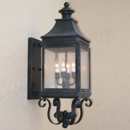 Lighting Innovations BPS1112 Exterior 7.9  Wide x 24  Tall Wall Sconce Lighting