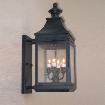 Lighting Innovations BPS1116 Exterior 6.9 Wide x 16.6 Tall Wall Sconce Lighting