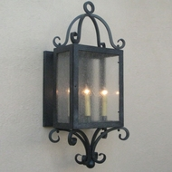 Lighting Innovations BPS1324 Outdoor 4.6 Wide x 14.5 Tall Lamp Sconce