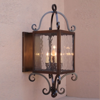 Lighting Innovations BPS1331 Exterior 7.3 Wide x 19 Tall Wall Light Sconce