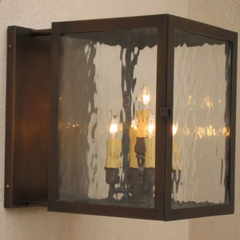 Lighting Innovations BPS1385 Exterior 14 Wide x 17.4 Tall Lamp Sconce