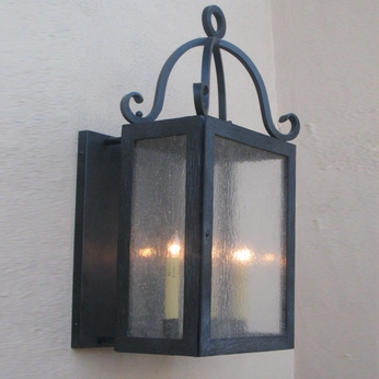 Lighting Innovations BPS1395 Outdoor 14.3 Wide x 24.6 Tall Wall Sconce Lighting