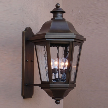 Lighting Innovations BPS1473 Traditional Exterior 14 Wide x 26.3 Tall Wall Sconce Lighting