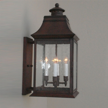 Lighting Innovations BPS2455 Exterior 12 Wide x 25.8 Tall Wall Lighting Sconce