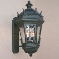 Lighting Innovations BPS5831 Traditional Exterior 9  Wide x 17.1  Tall Lamp Sconce