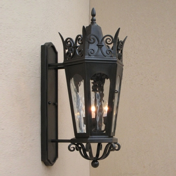 Lighting Innovations BPS7061 Traditional Exterior 9 Wide x 21 Tall Sconce Lighting