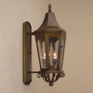 Lighting Innovations BPS8062 Outdoor 10 Wide x 25.5 Tall Wall Sconce Lighting