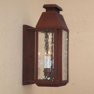 Lighting Innovations BPS9632 Exterior 9  Wide x 19.8  Tall Lamp Sconce
