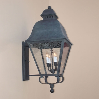 Lighting Innovations BPS9724 Exterior 14.9 Wide x 31.5 Tall Lighting Wall Sconce