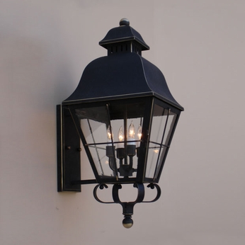 Lighting Innovations BPS9822 Outdoor 10.8 Wide x 24.3 Tall Wall Lighting Sconce