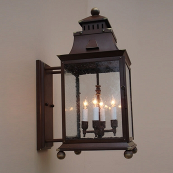 Lighting Innovations BPS9921 Outdoor 8.3 Wide x 20.3 Tall Wall Lighting Sconce