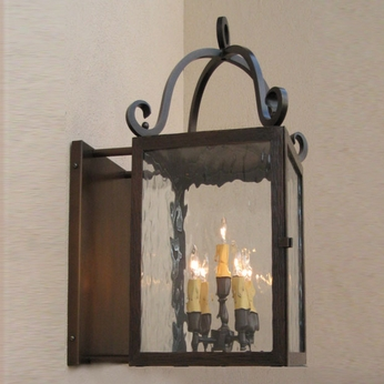 Lighting Innovations BS13CC Outdoor 9.4 Wide x 18.8 Tall Wall Light Sconce