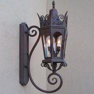 Lighting Innovations BS7011 Traditional Outdoor 9 Wide x 25.8 Tall Lighting Sconce