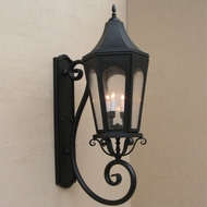 Lighting Innovations BS8011 Outdoor 8 Wide x 25.8 Tall Wall Mounted Lamp