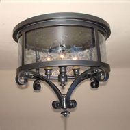 Lighting Innovations C10133 Exterior 18.5  Wide x 15.5  Tall Flush Mount Lighting Fixture