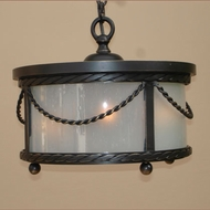 Lighting Innovations C11151 Outdoor 17.5 Wide x 12.3 Tall Hanging Lamp