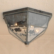 Lighting Innovations C2910 Exterior 11  Wide x 6.8  Tall Flush Mount Lighting Fixture
